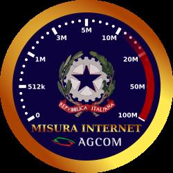 logo misura internet