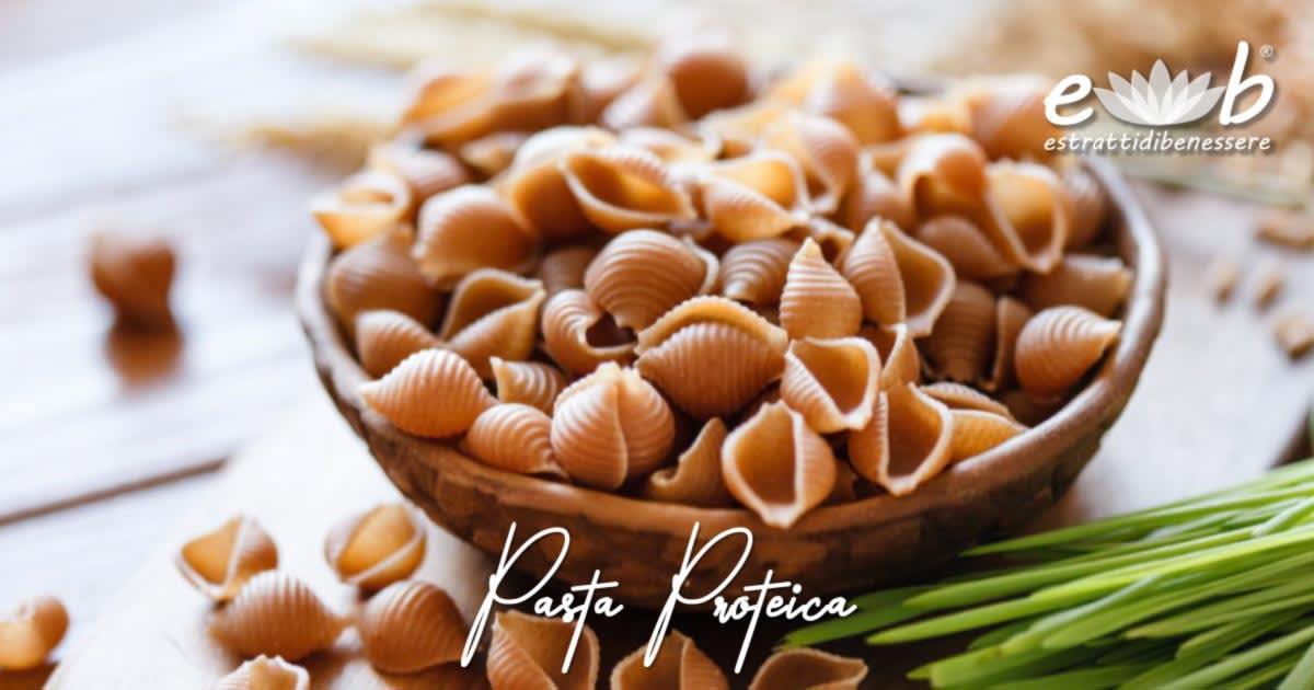 i 7 passi del benessere: 5° a pranzo pasta proteica