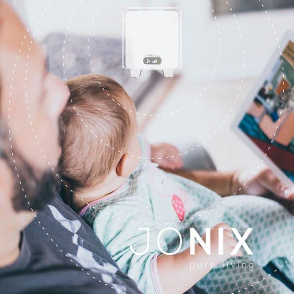 jonix cube purificare sanificare decontaminare aria ambienti bambini persone animali