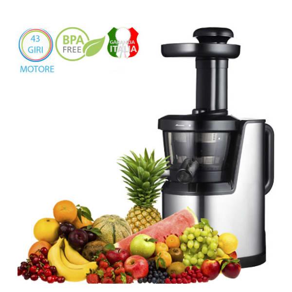 estrattore di succo slow juicer premium spremitura frutta e verdura