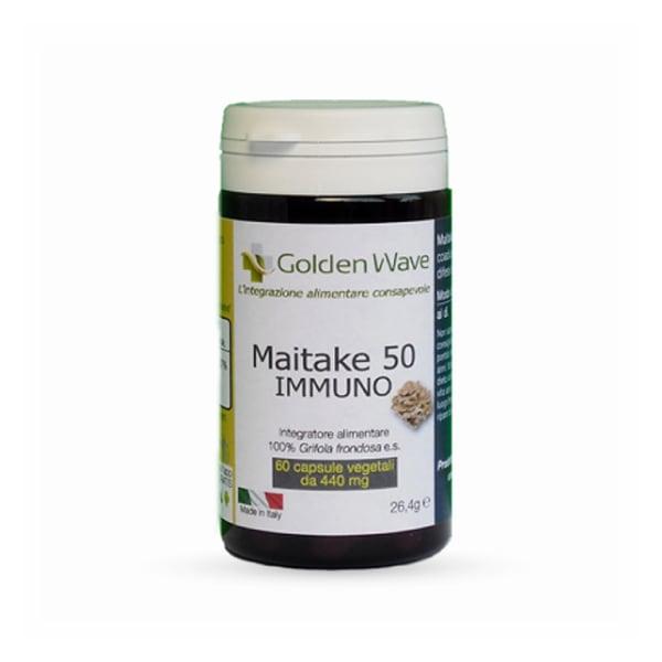 maitake 50 immuno micoterapia difese immunitarie compresse colesterolo diabete ipertensione