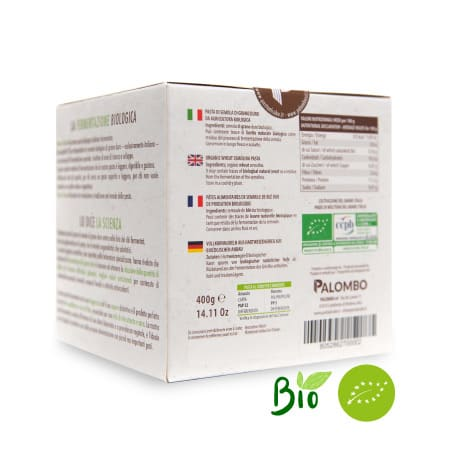 pasta fermentata biologica digeribile leggera gustosa naturale