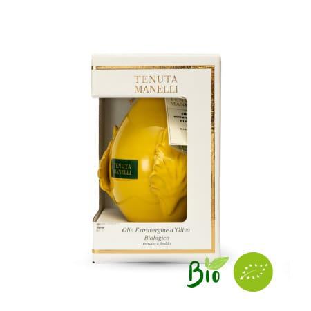 olio extravergine di oliva biologico 100% cellina di nardò pomo ocra 500 ml alta qualità ricco di polifenoli