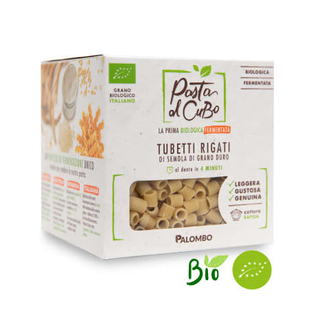tubetti rigati fermentati pasta biologica digeribile leggera gustosa