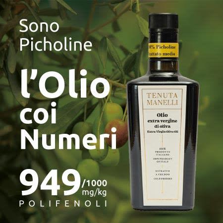 picholine olio extravergine più ricco di polifenoli biofenoli