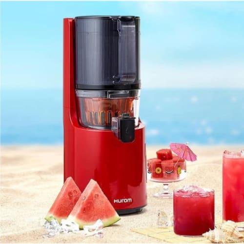 Estrattore hurom h200 rosso succo di frutta e verdura spremitura a freddo