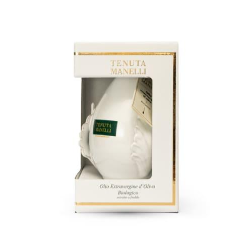 olio extravergine di oliva biologico 100% cellina di nardò pomo bianca 500 ml alta qualità ricco di polifenoli