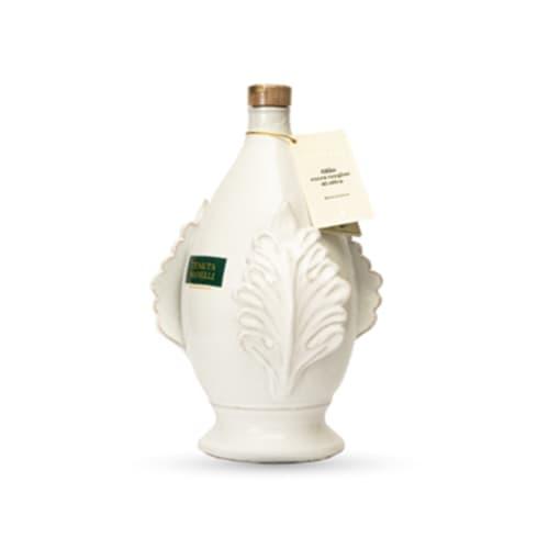 olio extravergine di oliva biologico 100% cellina di nardò pomo bianca 1 litro alta qualità ricco di polifenoli