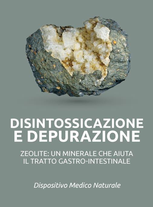 zeolite disintossicazione e depurazione dell organismo dai metalli pesanti digestione intestino dispositivo medico