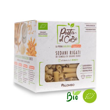 sedani rigati fermentati pasta biologica digeribile leggera gustosa