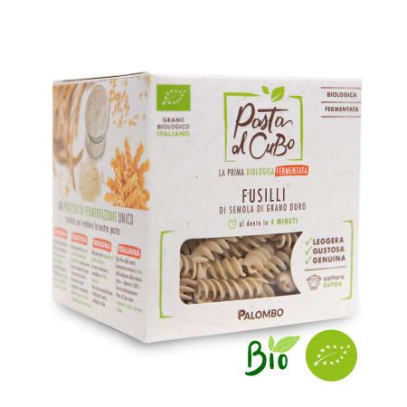 fusilli fermentati pasta biologica digeribile leggera gustosa
