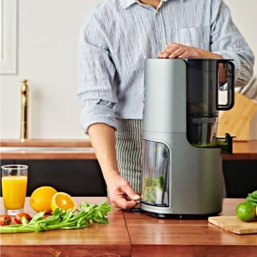 Estrattore hurom h200 platino succo di frutta e verdura spremitura a freddo