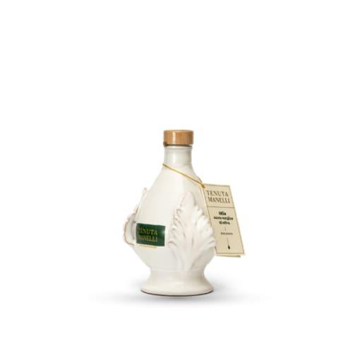 olio extravergine di oliva biologico 100% cellina di nardò pomo bianca 250 ml alta qualità ricco di polifenoli