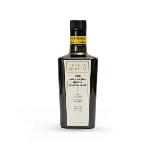 olio extravergine di oliva picholine pressato a freddo ricco di polifenoli