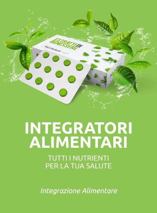 integratori alimentari integrazione alimentare