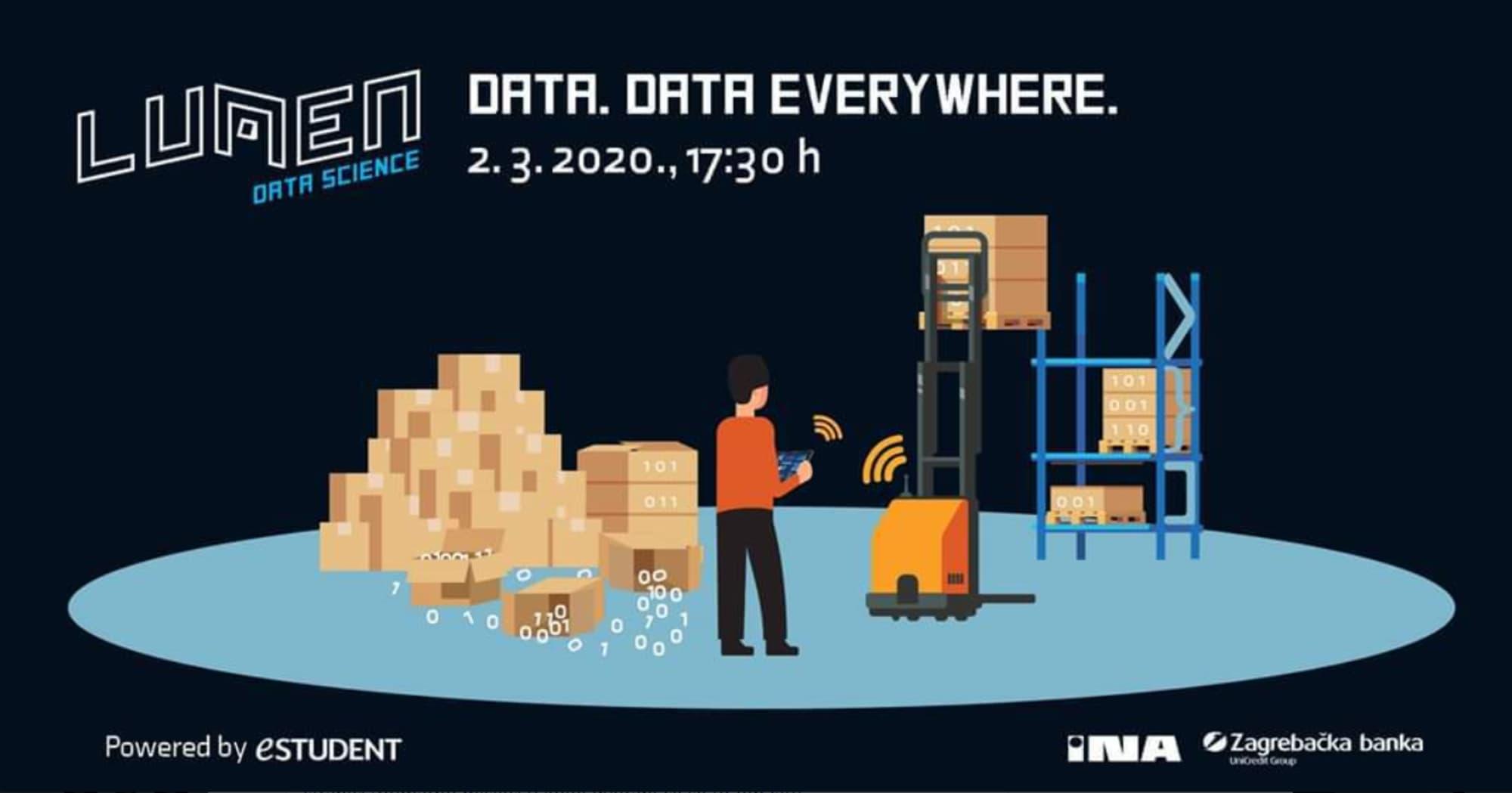 Bez problema barataš podacima, a analitika i statistika su ti u malome prstu? Data te čeka!