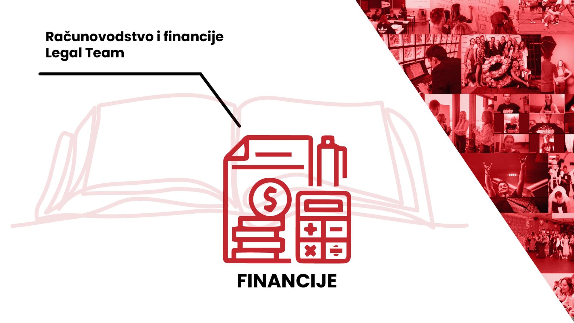 Dođi u skupinu Financije i otkrij svoje prav(n)o lice!