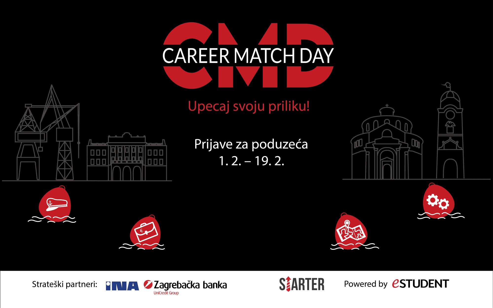 Počinju  prijave poduzeća za Career Match Day: upecajte svoju priliku!