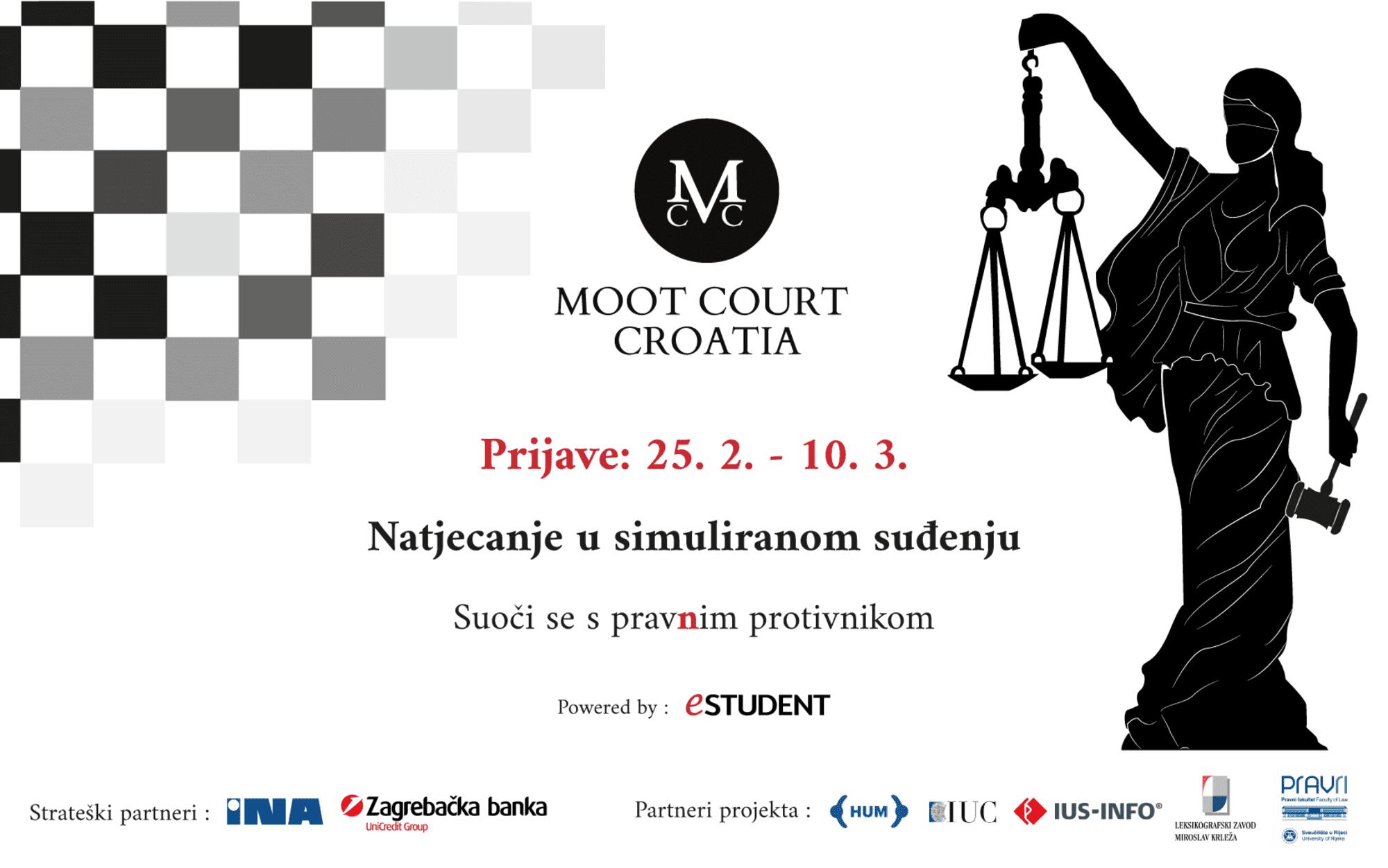 Tražiš pravničko iskustvo? Prijave za Moot Court Croatia su otvorene!