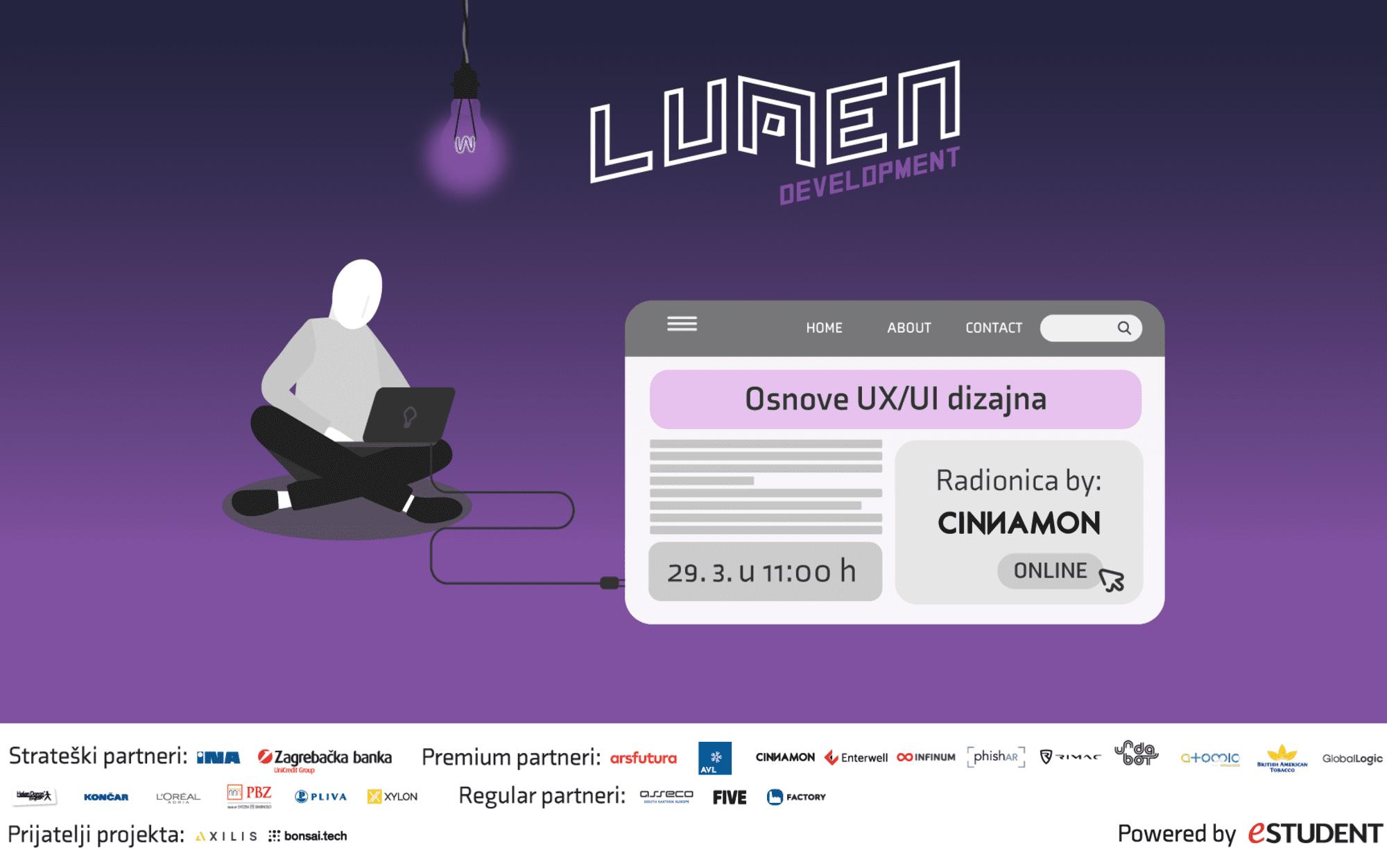 LUMEN Development održao 2. radionicu: Osnove UX/UI dizajna