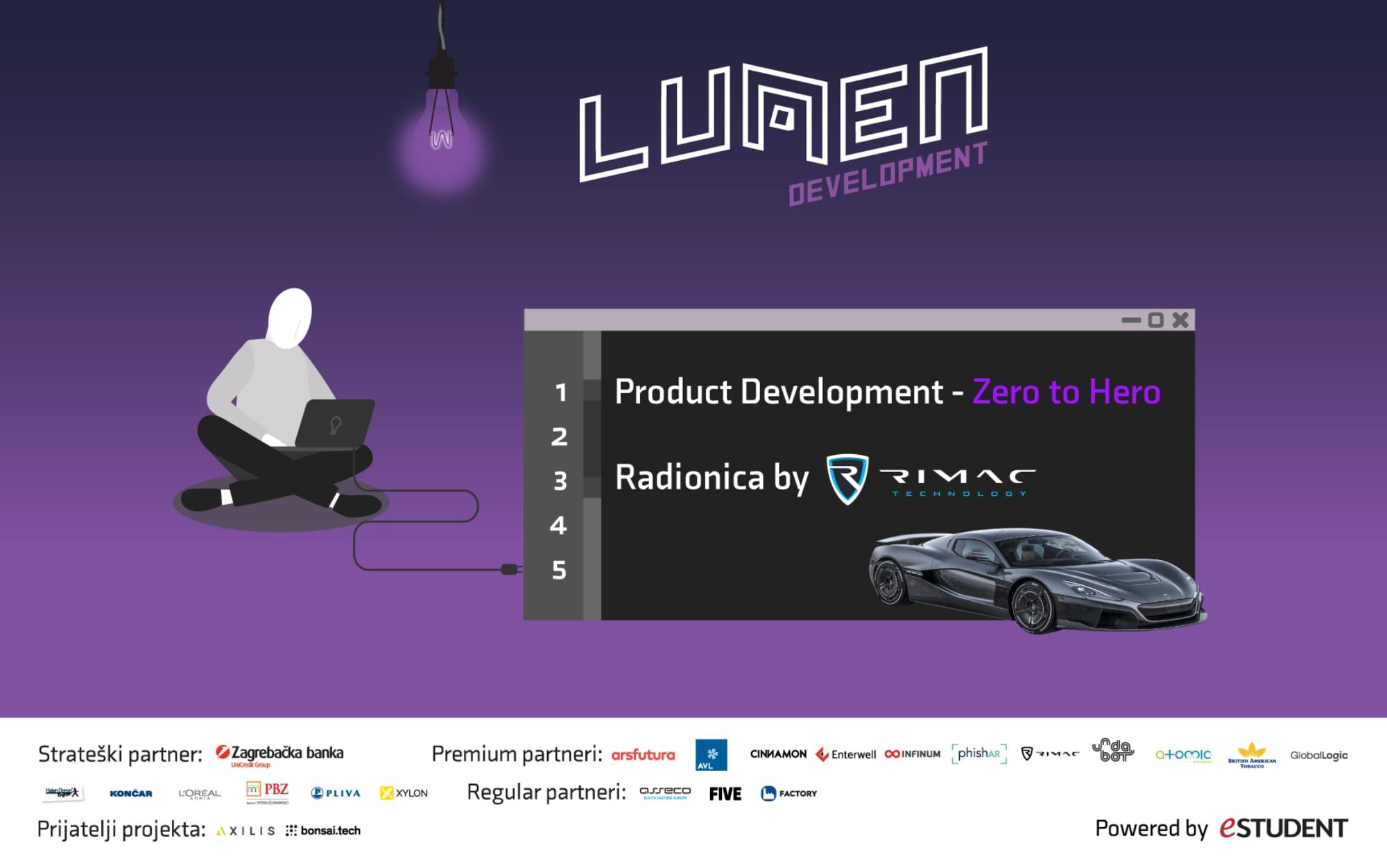 "Product Development -  ""Zero to Hero""  radionica s Rimac Automobilima"