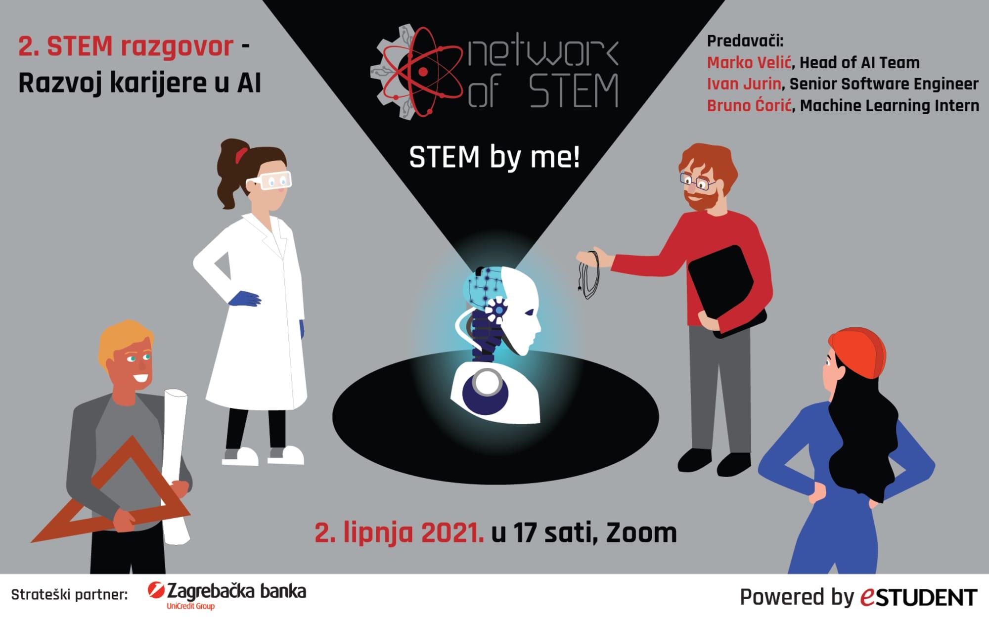 """Drugi razgovor Network of STEM: """"Faks je temelj i osnova za ovaj posao, ali odlične pojedince izdvaja rad na sebi i vanjskim projektima vezanim za struku"""""""