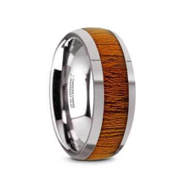 Thorsten Rings Engraved Roaming Deer Tungsten Carbide Spinner
