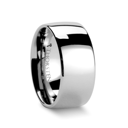 DOMINUS Domed Tungsten Carbide Ring - 2mm - 12mm