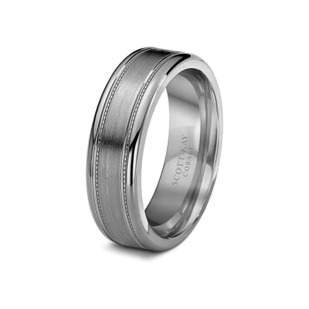 Scott Kay Ring Cobalt 7mm Mens Brushed Wedding Band Eternal Tungsten