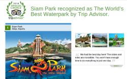 Siam Park Awarded Best Water Park by TripAdvisor