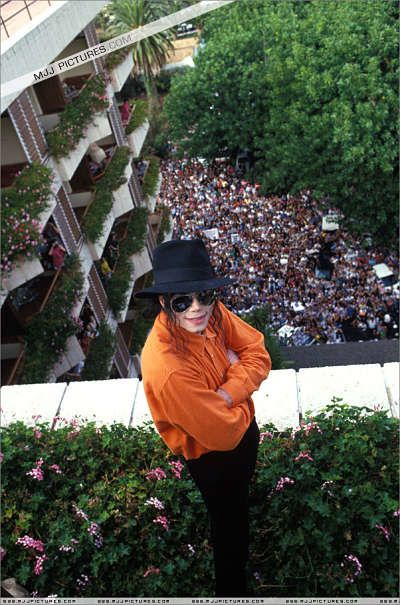 Michael Jackson in Tenerife