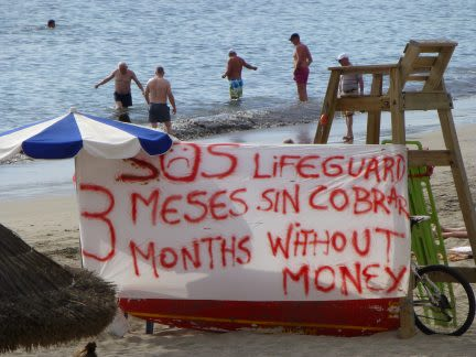 The Life Guards of Tenerife Have Not Been Paid for 3 Months