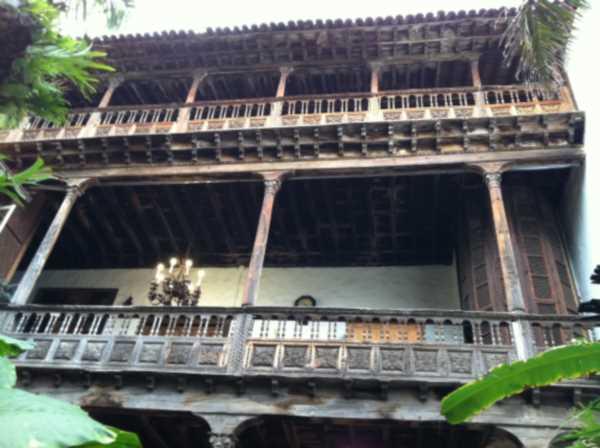Traditional Wooden Balconies of Tenerife