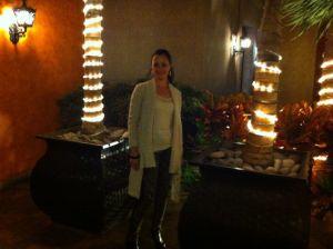 Jane at the Hotel Villa Cortes