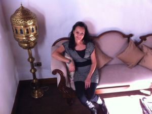 Jane in Hotel San Agustin Icod Tenerife