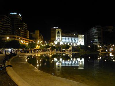 Plaza de Espania New Years Eve