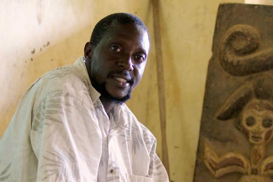 Lamin Bojang - Founder of Gunjur Museum