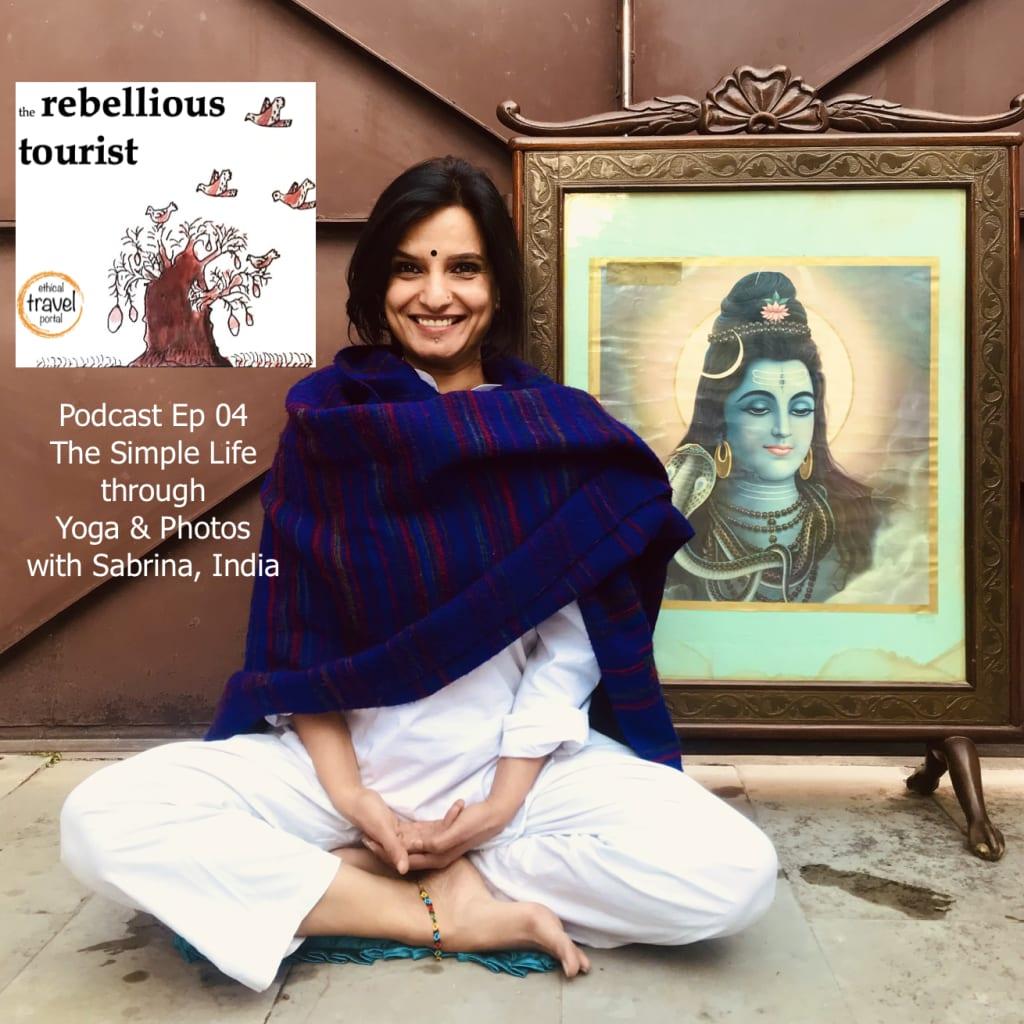 Podcast 4 - sabrina yoga india