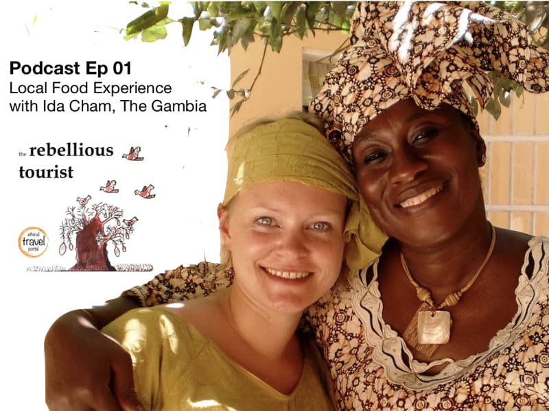Podcast Local Food Experience Ida Cham Gambia