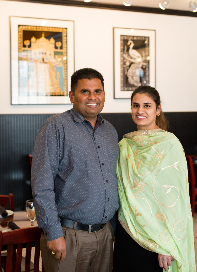 From left: Co-owners are Kabal and Gagan Gill