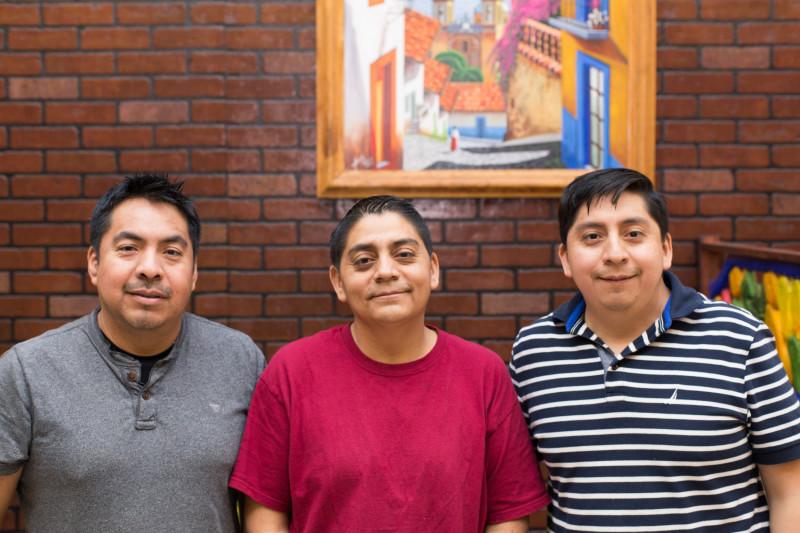 Brothers Humberto, Enrique, and Miguel Juárez