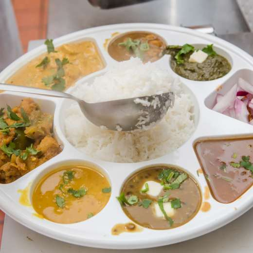 Punjabi thali