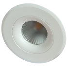 ETLED 360 8,6W DTW MATT HVIT IP44