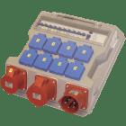 400V BYGGSENTRAL IP44, 432-6 I