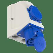 KOMBI STIKK 230V 216-6 IP44