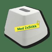 ETLED FROST HVIT M/2xUTTAK