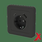 X.STIKK INNF ENKEL M/USB A+C