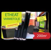 ETHEAT PAKKEPRIS 200M2 FOLIE
