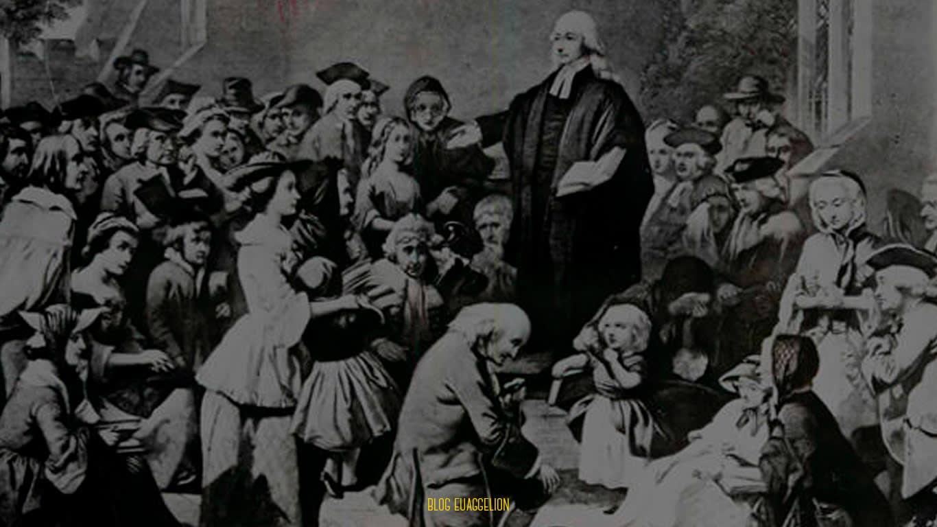 """Rascunho do Sermão: """"A Salvação pela Fé"""" de John Wesley"""