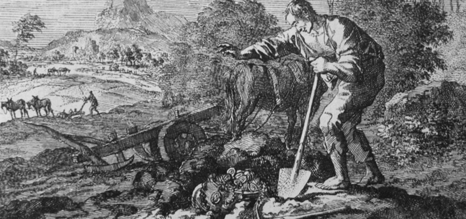 Um tesouro escondido - Série: As Parábolas de Jesus